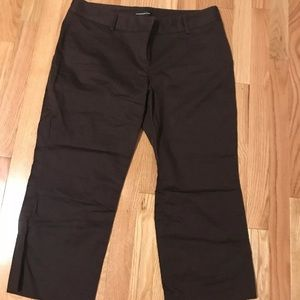 Express capris size 12 brown